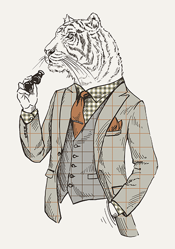 Tigre gentleman