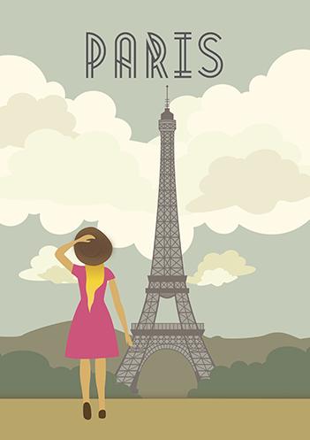 Paris é logo alí